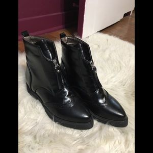 Women's brogue ankle boots